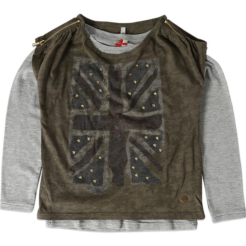 Image of 2 i 1 Beth bluse og t-shirt
