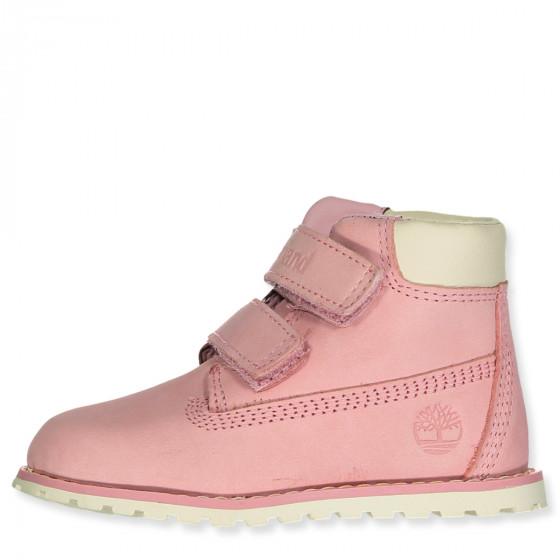 timberland lyserøde sko
