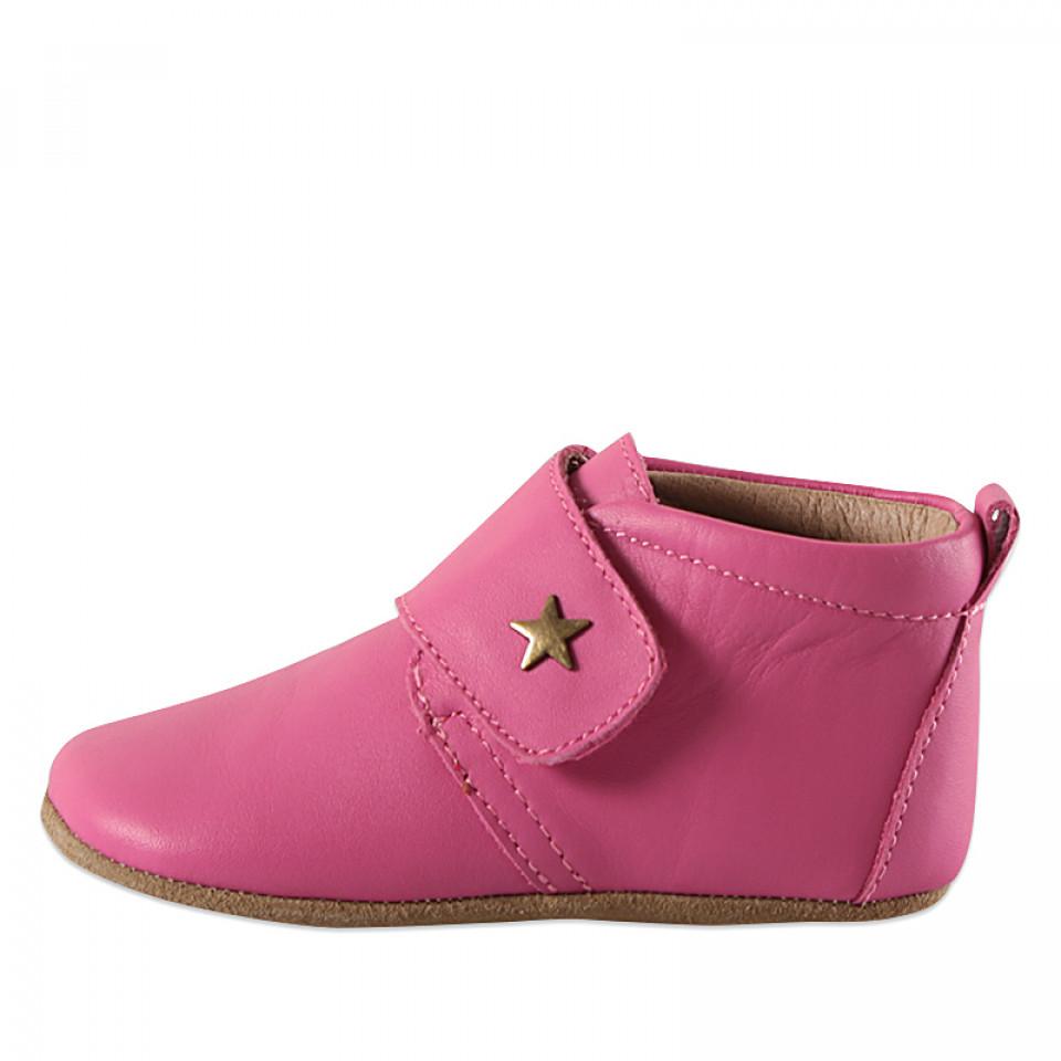 9ae28cff95c5 Bisgaard - Pink hjemmesko med stjerne - Pink