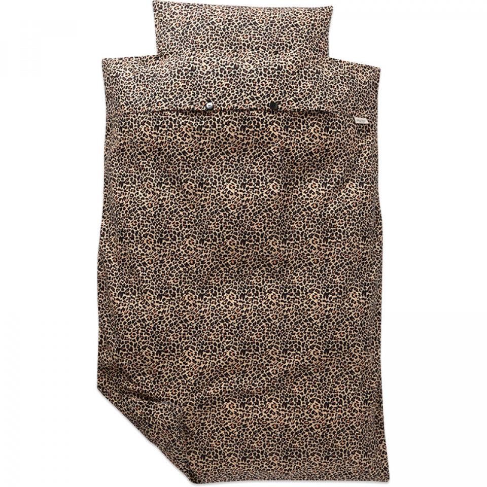 marmar sengetøj MarMar   Leopard sengetøj   Brun   House of Kids marmar sengetøj