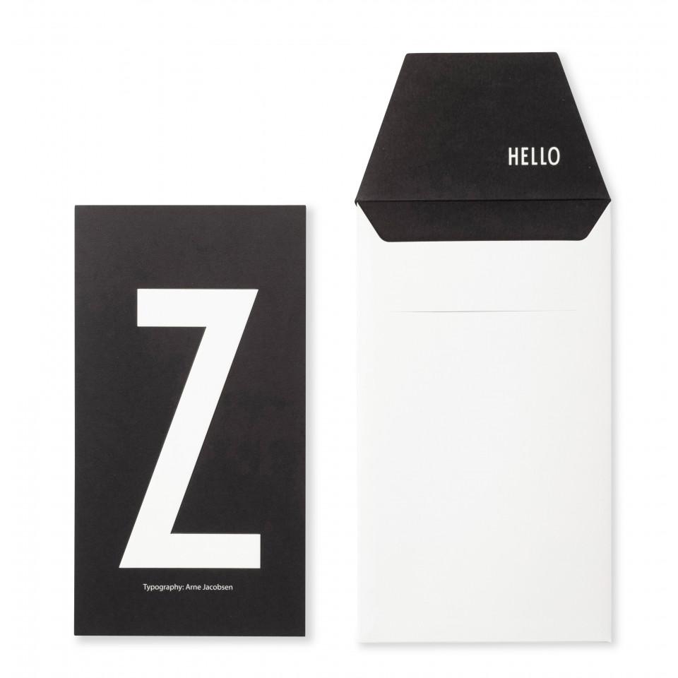Kort m/kuvert Z