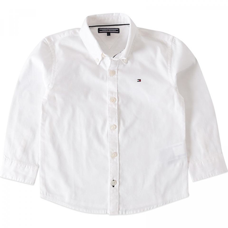 74c2e937974 Hvid Oxford skjorte