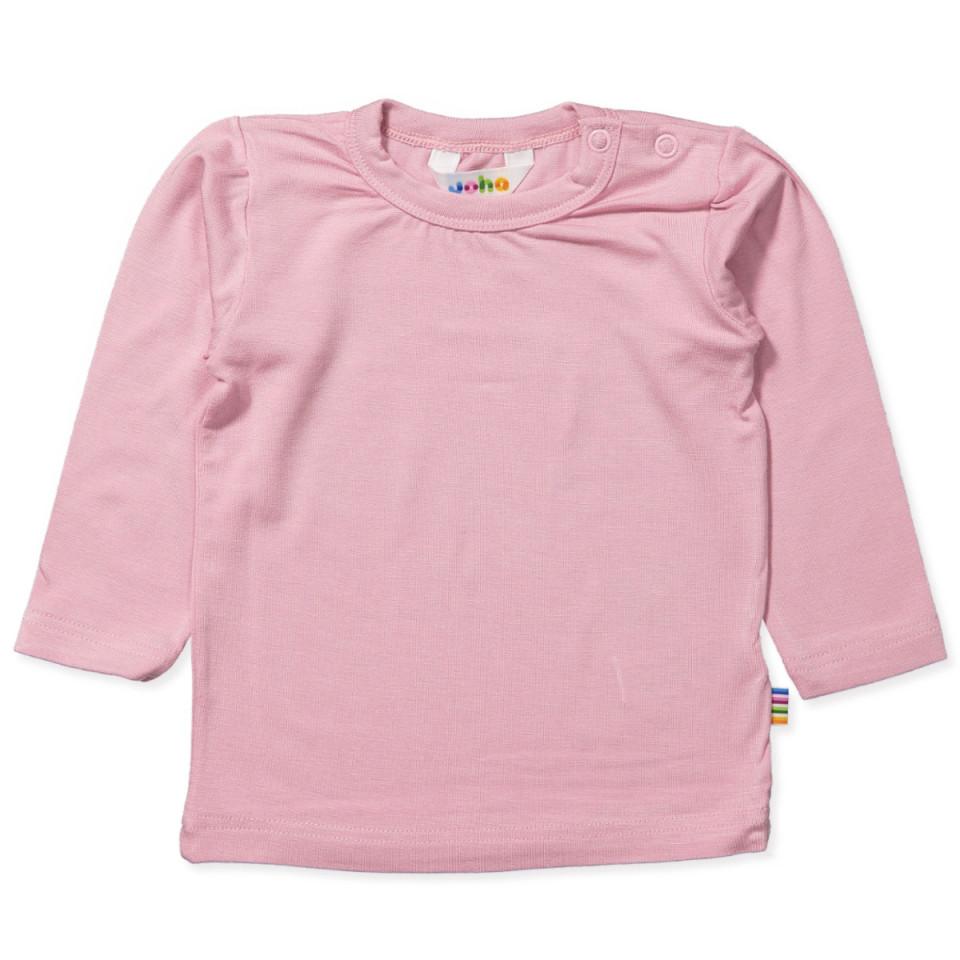 Rosa bambus bluse
