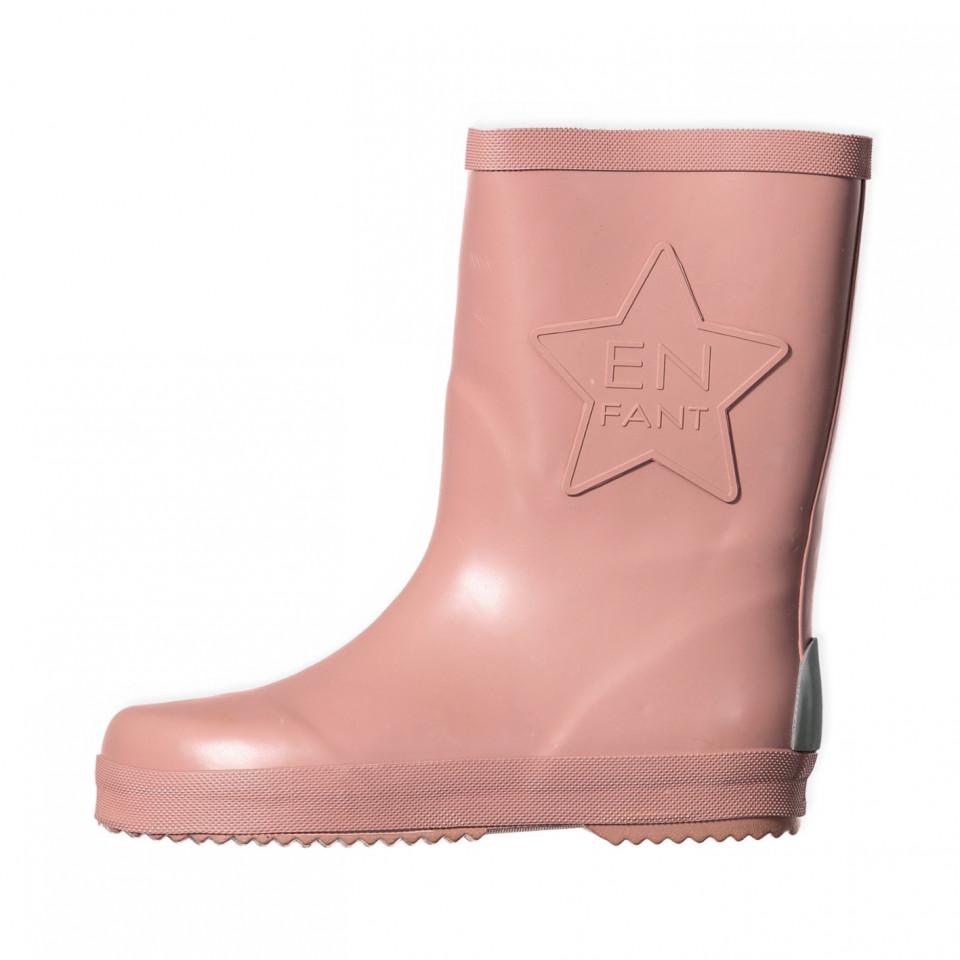 En Fant - Rosa gummistøvler - Rosa