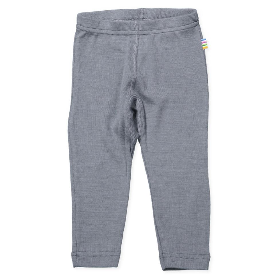 Grå uld/silke leggings