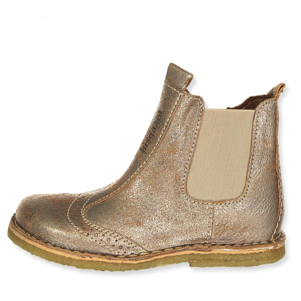 249b7a5b50d Bisgaard - Guld støvler - Gold - Metallic