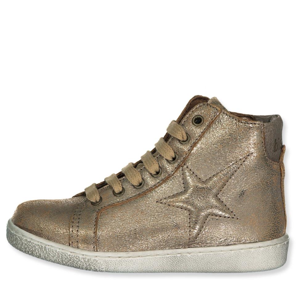 f978b29b9d10 Bisgaard - Guld sneakers - Gold - Metallic