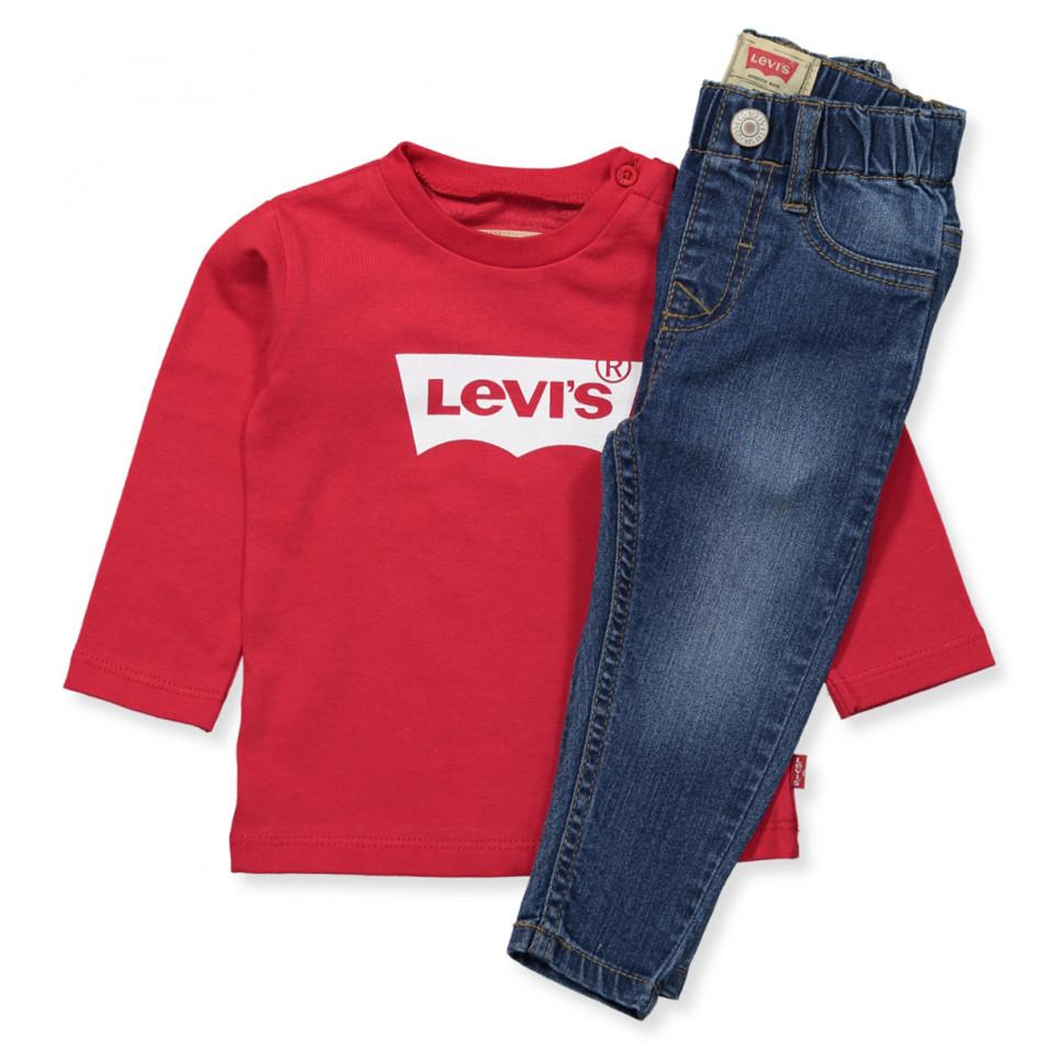 levi 39 s kids jeans bluse gave ske assortment navy. Black Bedroom Furniture Sets. Home Design Ideas