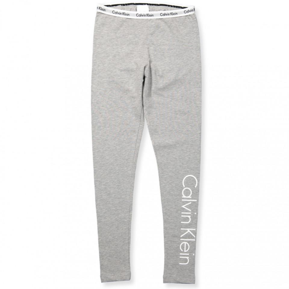 calvin klein leggings grå