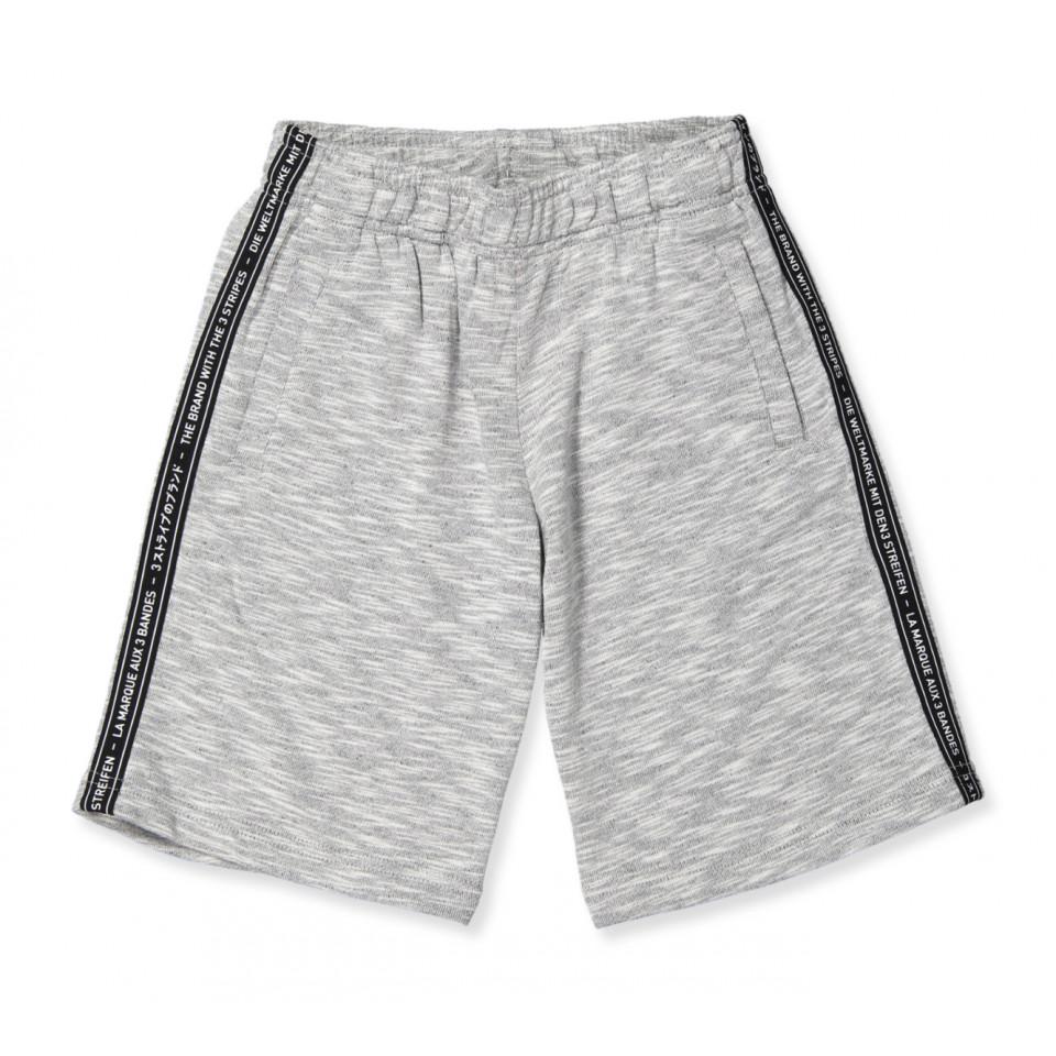 Grå shorts