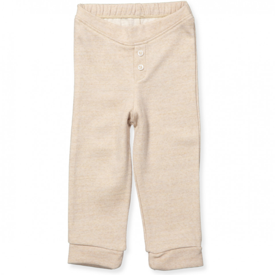 70734291 Noa Noa miniature - Uld/bomuld leggings - SILVER LINING