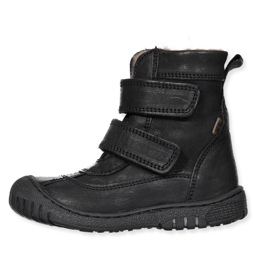 e6a7319c3e3 Bisgaard - Sorte tex vinterstøvler - Black - Sort
