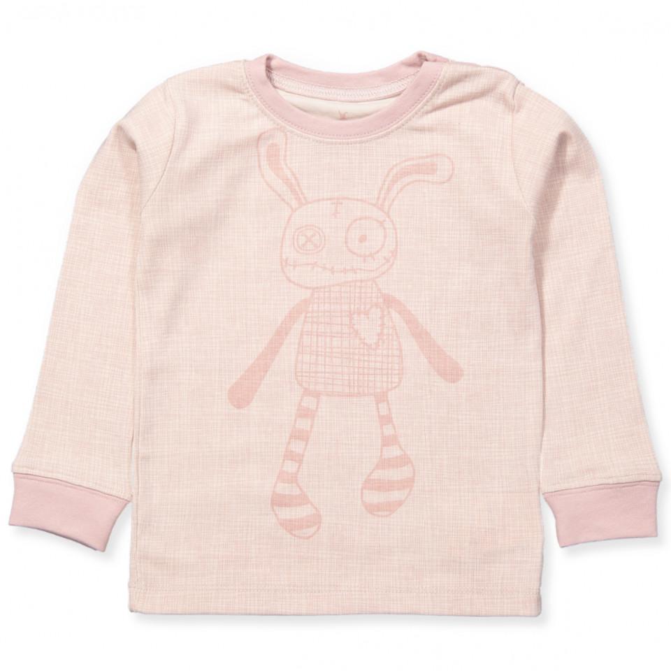 1d2e4d03 Small rags - Rosa bluse - Pale Mauve - Rosa