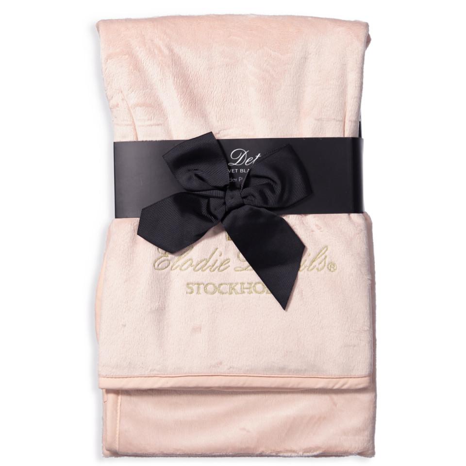Powder Pink Pearl velourtæppe