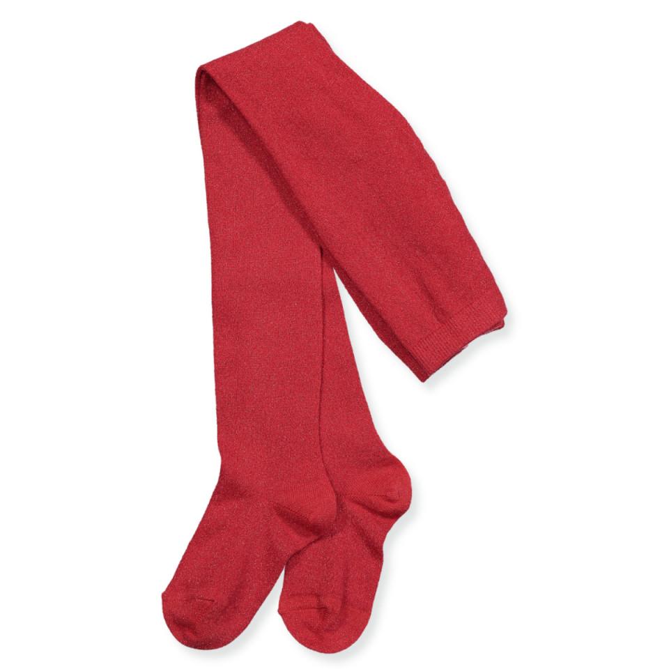 Mp Denmark - Røde glitter strømpebukser - RED - Rød