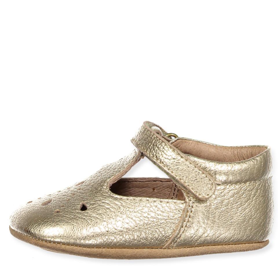 d255b527264 Bisgaard - Guld hjemmesko - Gold - Metallic