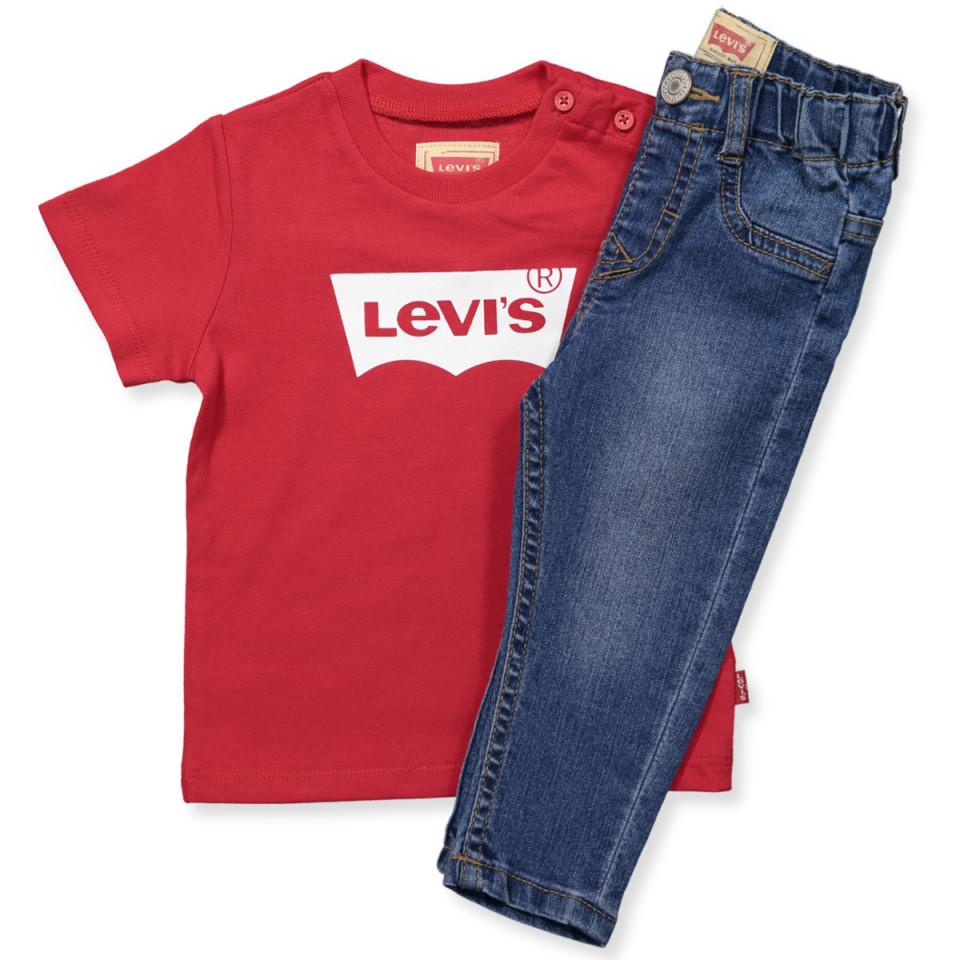 levi 39 s kids t shirt jeans gave ske assortment. Black Bedroom Furniture Sets. Home Design Ideas