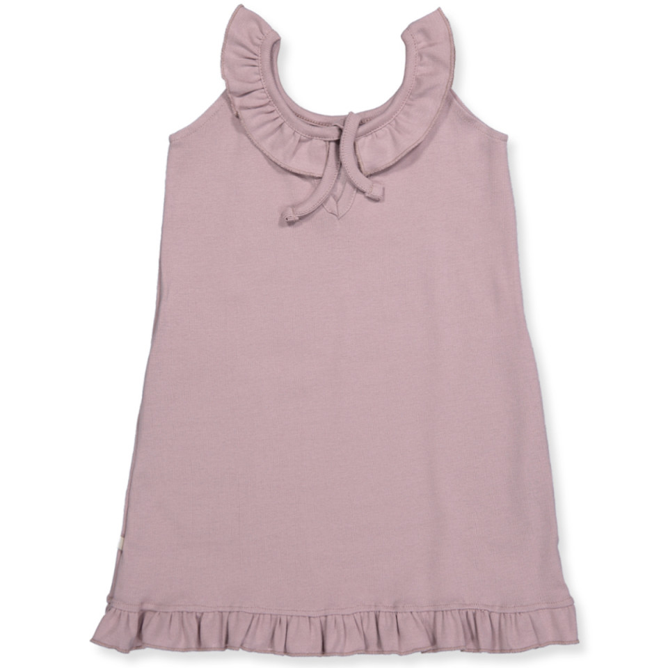 9c53dfc60cbf Minimalisma - Organic Sommer kjole - Dusty Rose - Rosa