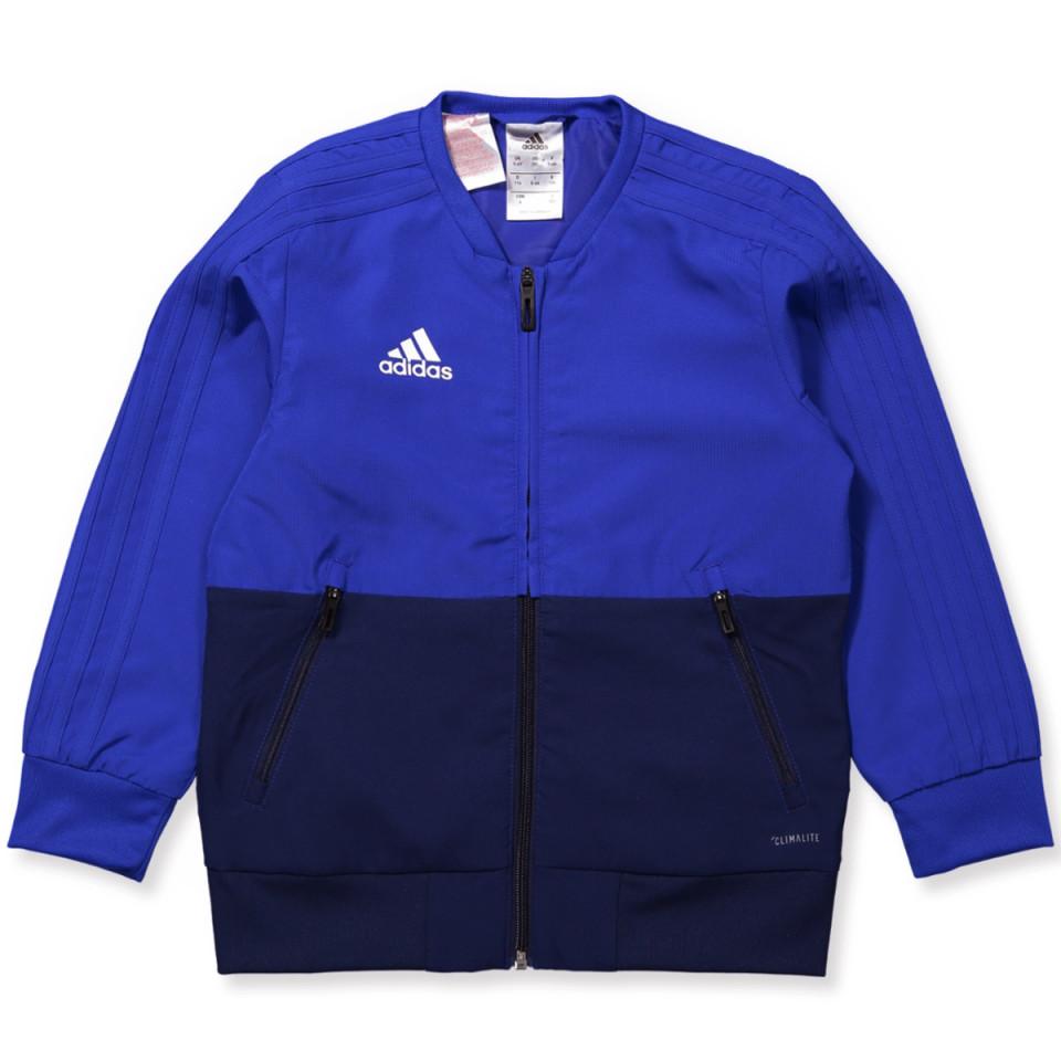 Blå Condivo zip trøje