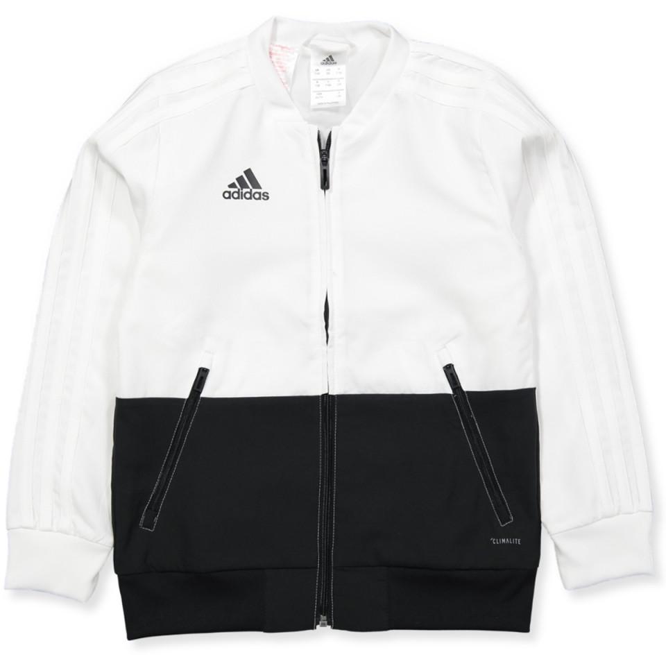 Hvid Condivo zip trøje