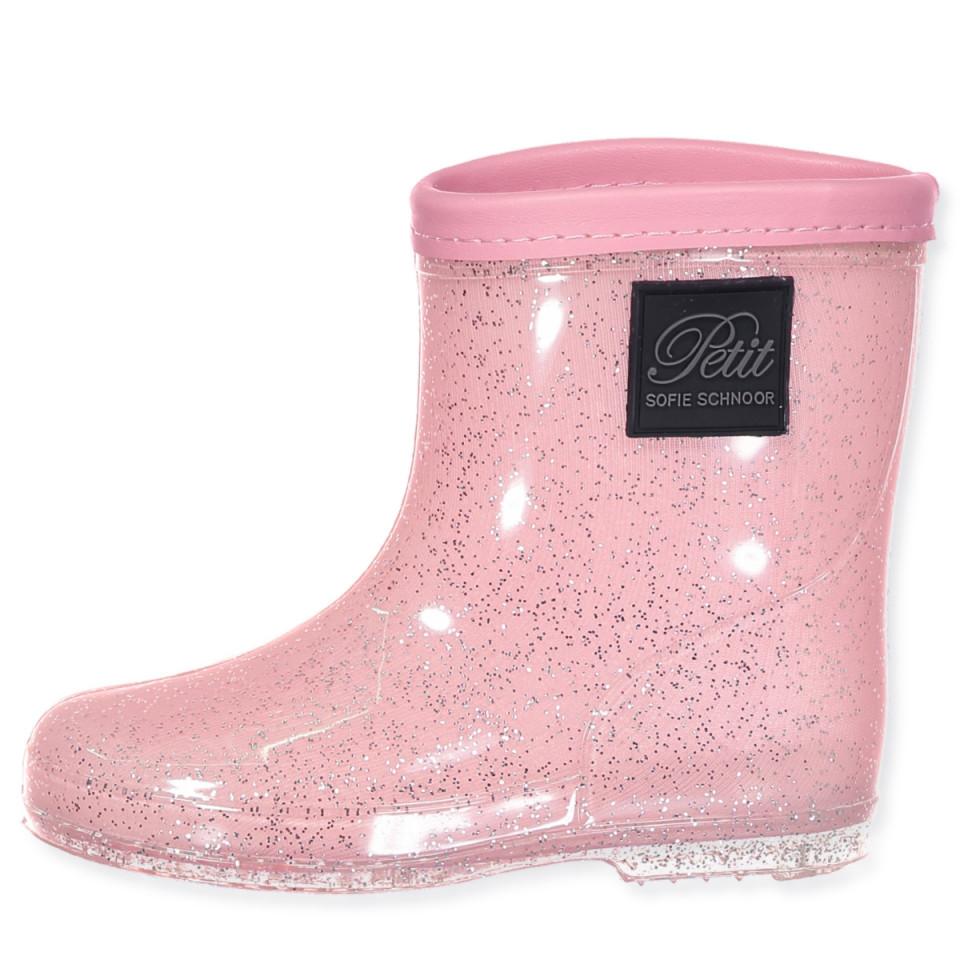 23a8dcb2eac Petit Sofie Schnoor - Glitter gummistøvler - rose