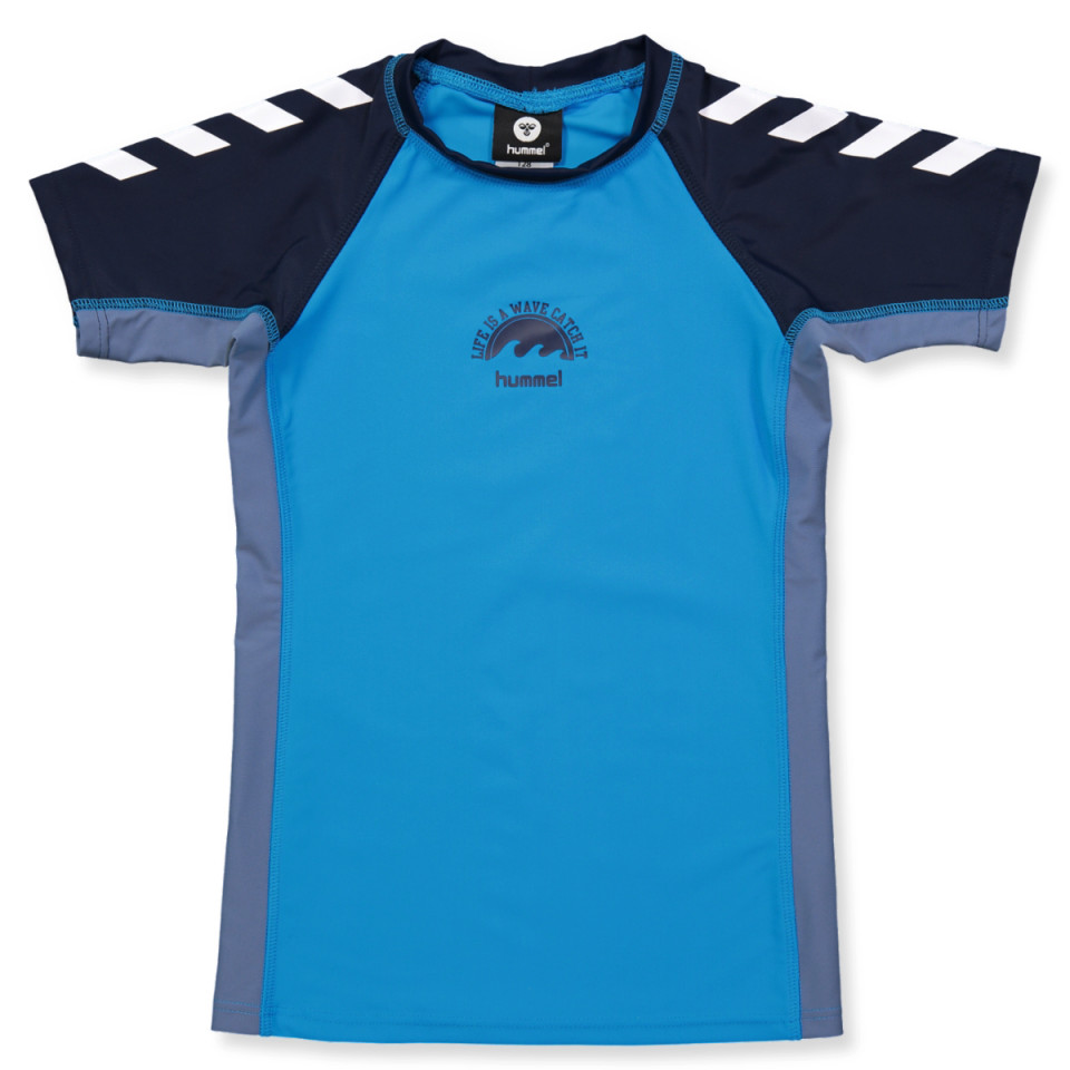 983a32e189b Hummel - Zap UV 50 bade-t-shirt - TURCHEESE - Turkis