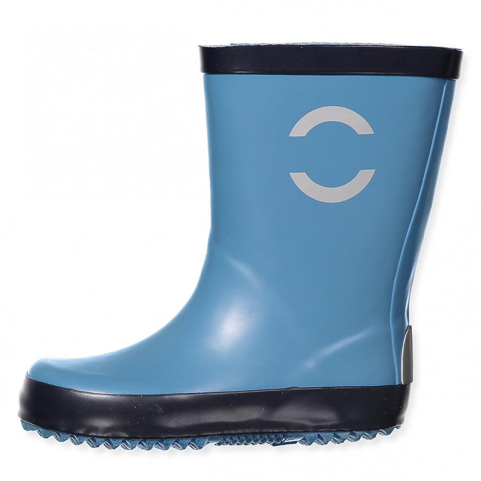 Blå gummistøvler