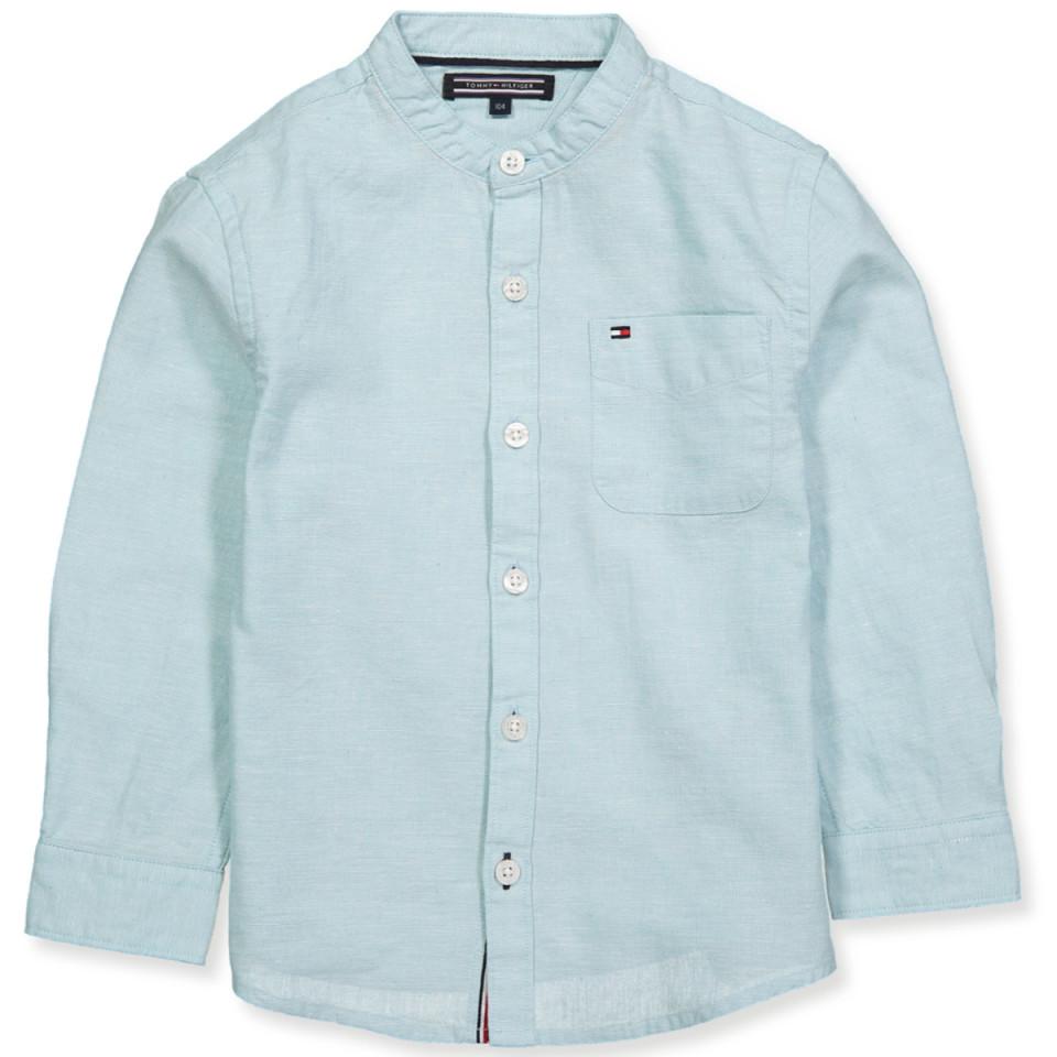 b6e0fceeec2 Tommy Hilfiger - Lyseblå skjorte - Stratosphere