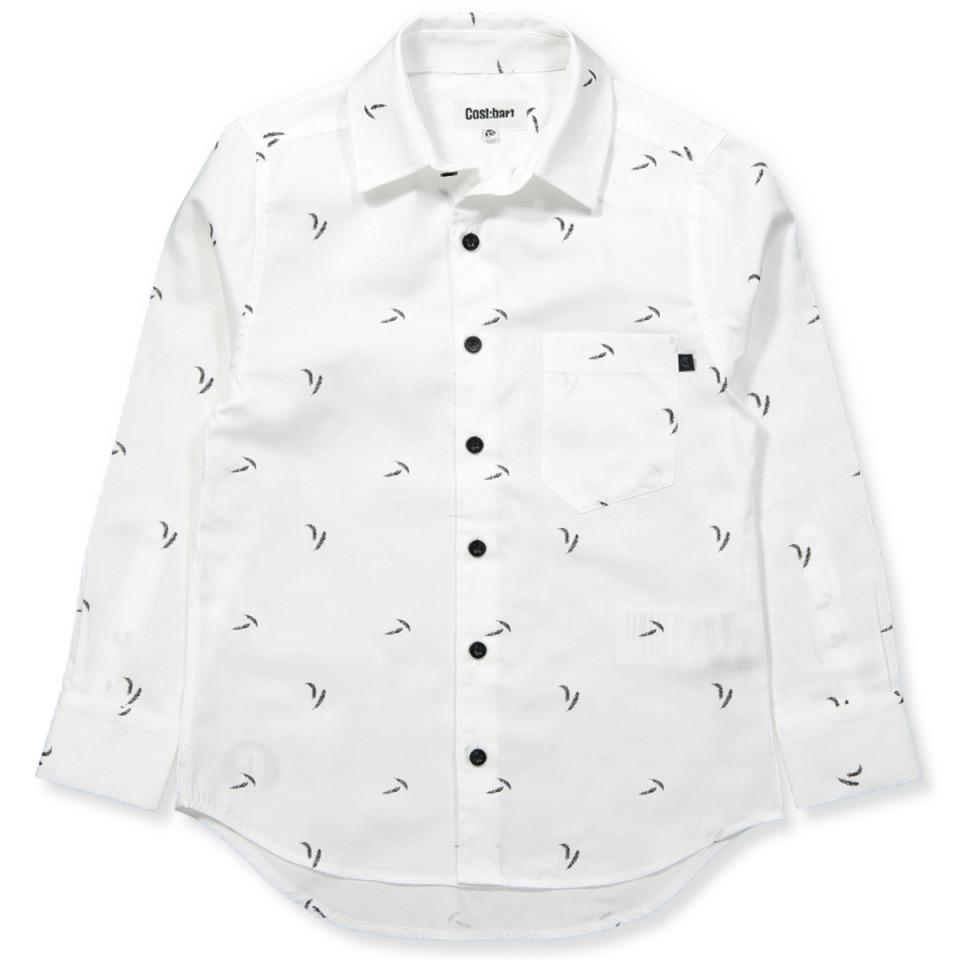 aecce02fb3e Cost:Bart - Basil skjorte - 100 - Hvid - House of Kids