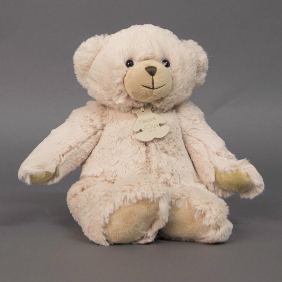 Beige bamse - 35 cm
