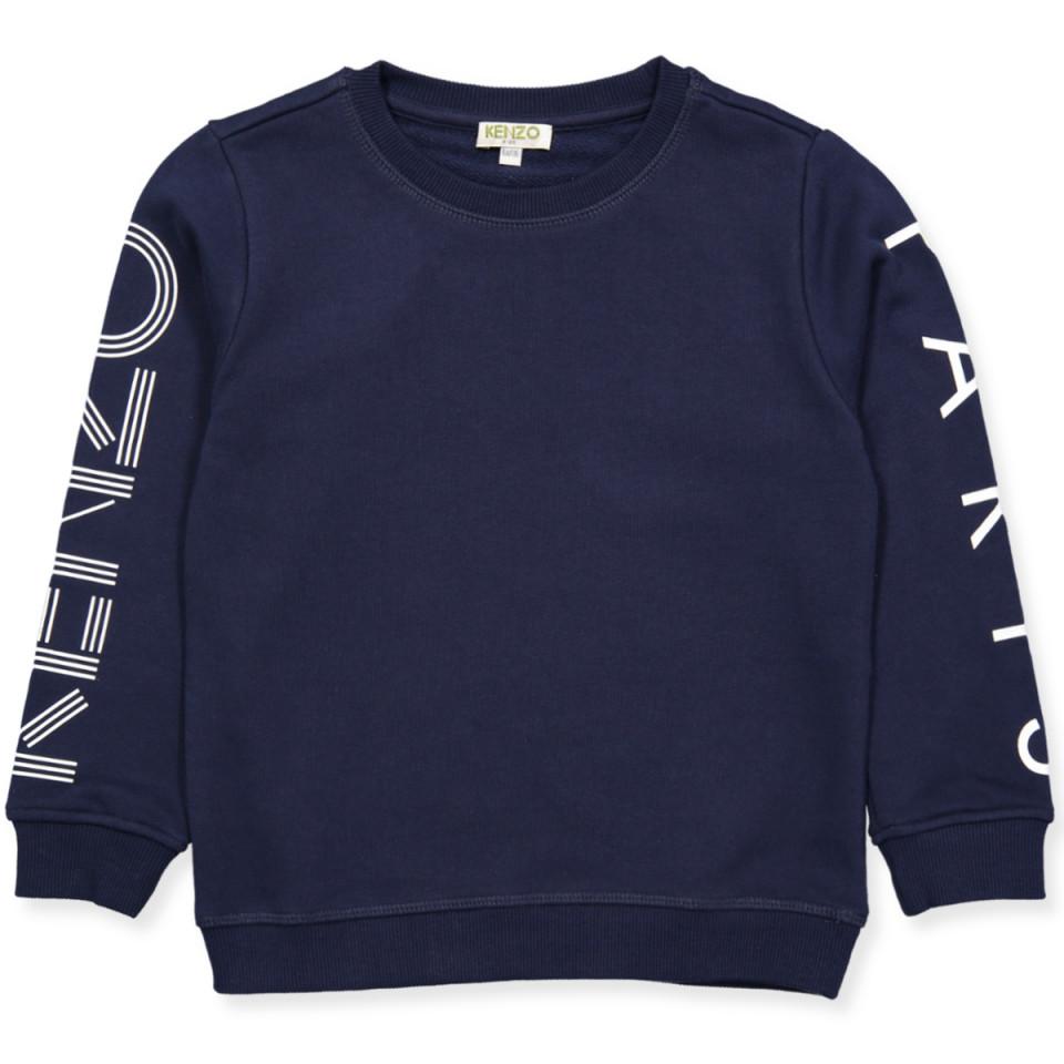 9f6dc410ad0 Kenzo Kids - Logo sweatshirt - MARINE BLUE - Navy