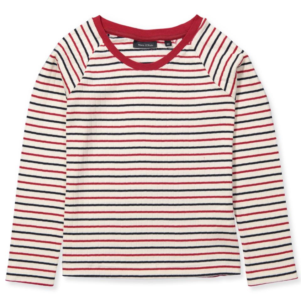 3c3621430a4 Marc O' Polo - Stribet bluse - y/d stripe|multicolored