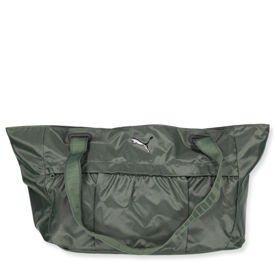 Grøn sportstaske