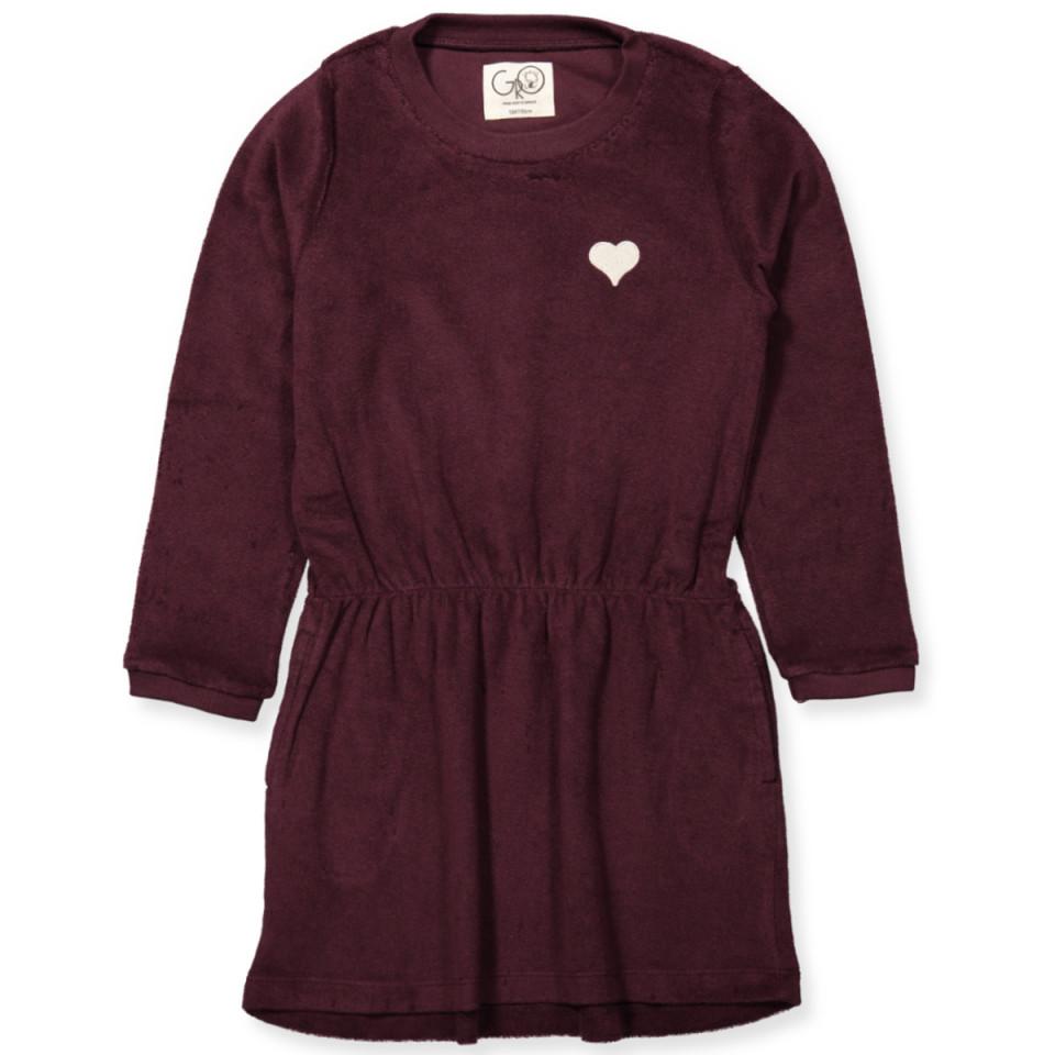 7fcba554d719 Gro - Bridget kjole - BORDEAUX - Bordeaux