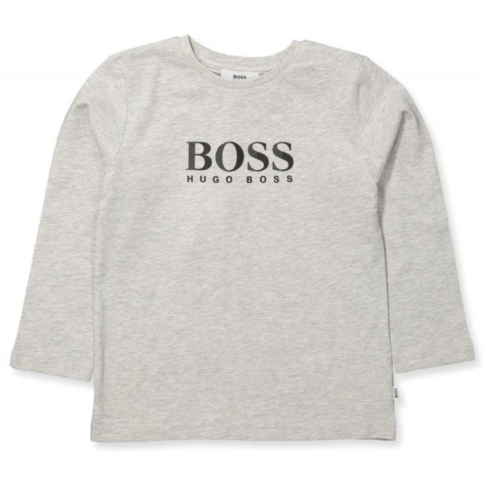 Hugo Boss - Bluse - LIGHT GREY MARL - Grå 195ea5c584