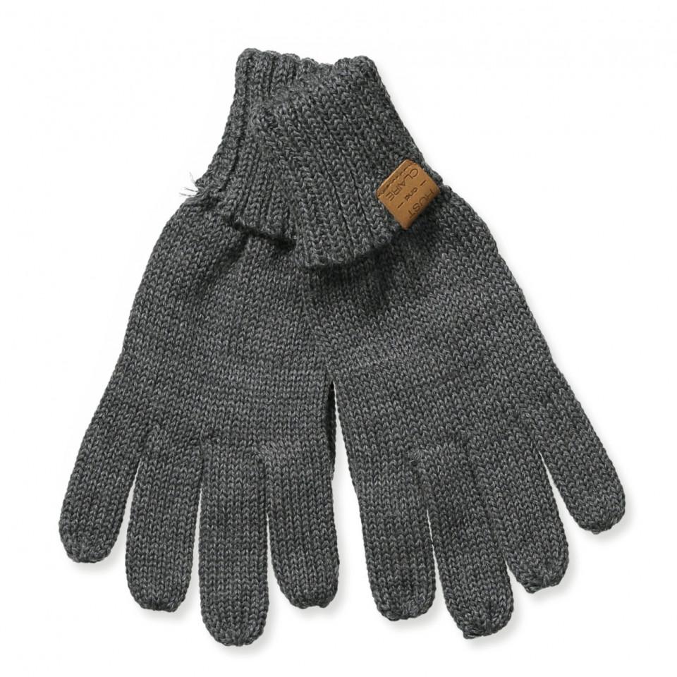 10cacd9efcb Hust & Claire - Festo uld handsker - Antracite melange