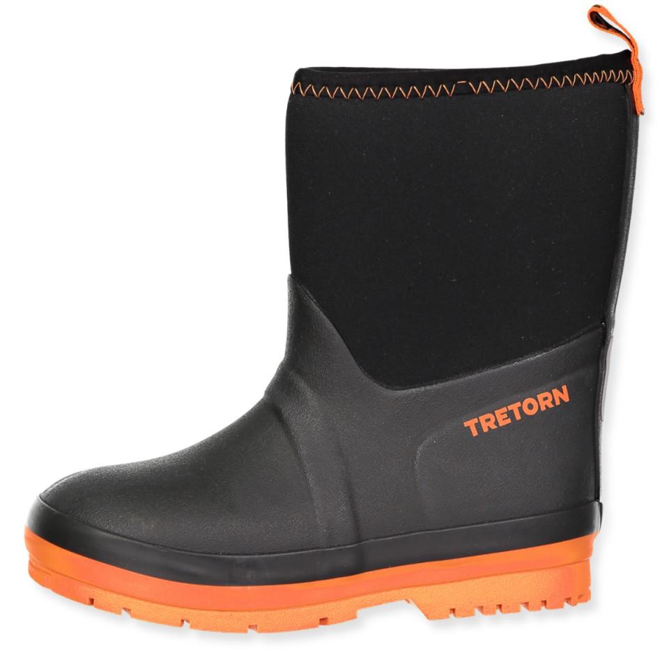 548b7e5d87f Tretorn - Kuling Neoprene gummistøvler - Black - Sort