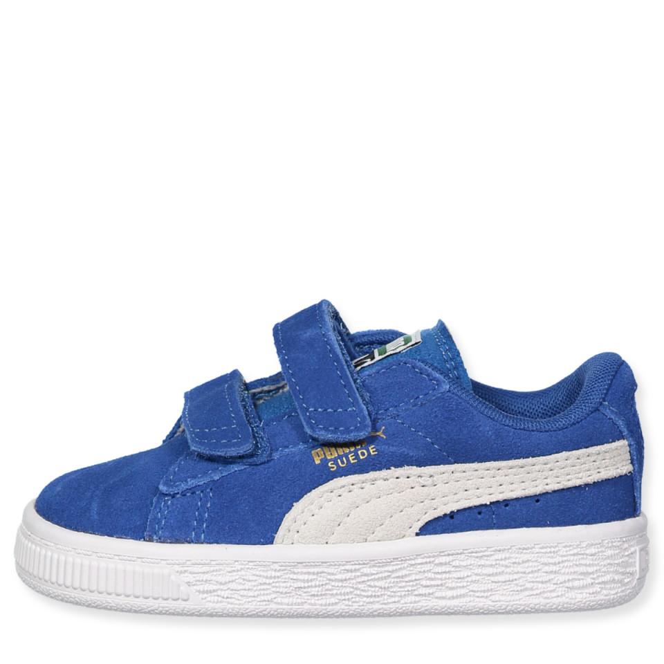 b9e97b8083b Puma - Suede 2 straps kids - Blue - Blå