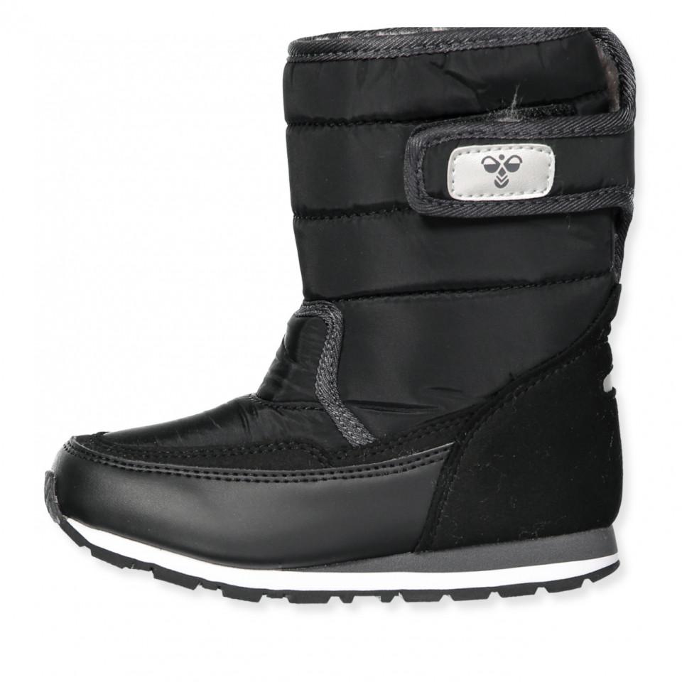 62d1f1a77ee Hummel - Reflex Winter Boot Jr - BLACK/GREY - Sort