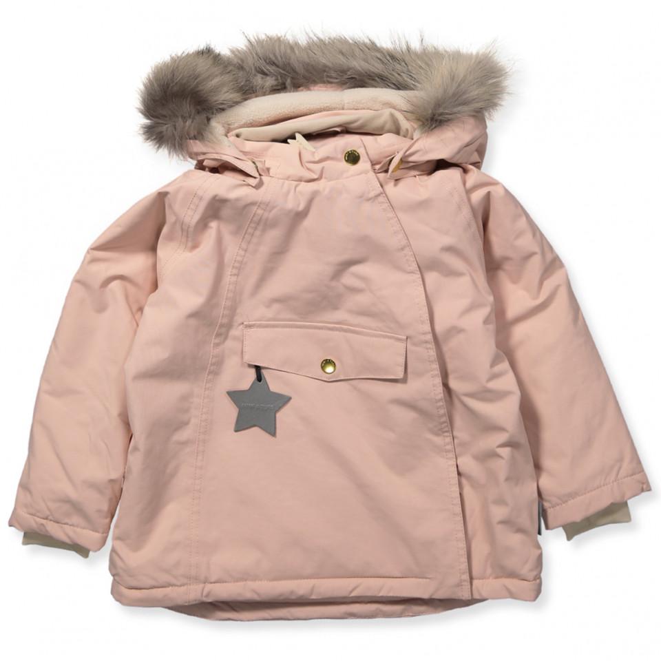 b3ddc0d2e09 Mini A Ture - Wang vinterjakke med pels - Rose Smoke