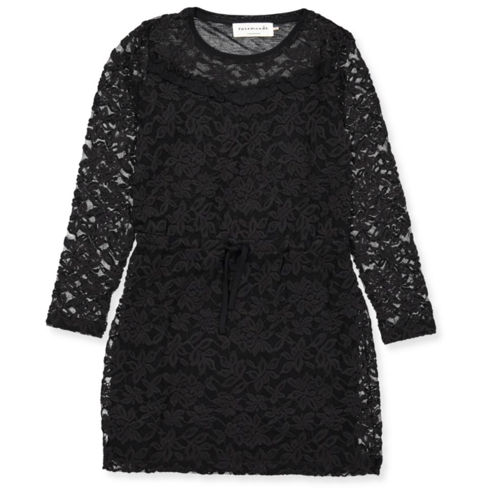 07ef3865df4d Rosemunde - Sort kjole - Black - Sort - House of Kids