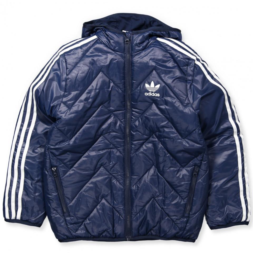 3be7006f0c2 Adidas Originals - Navy fashion vinterjakke
