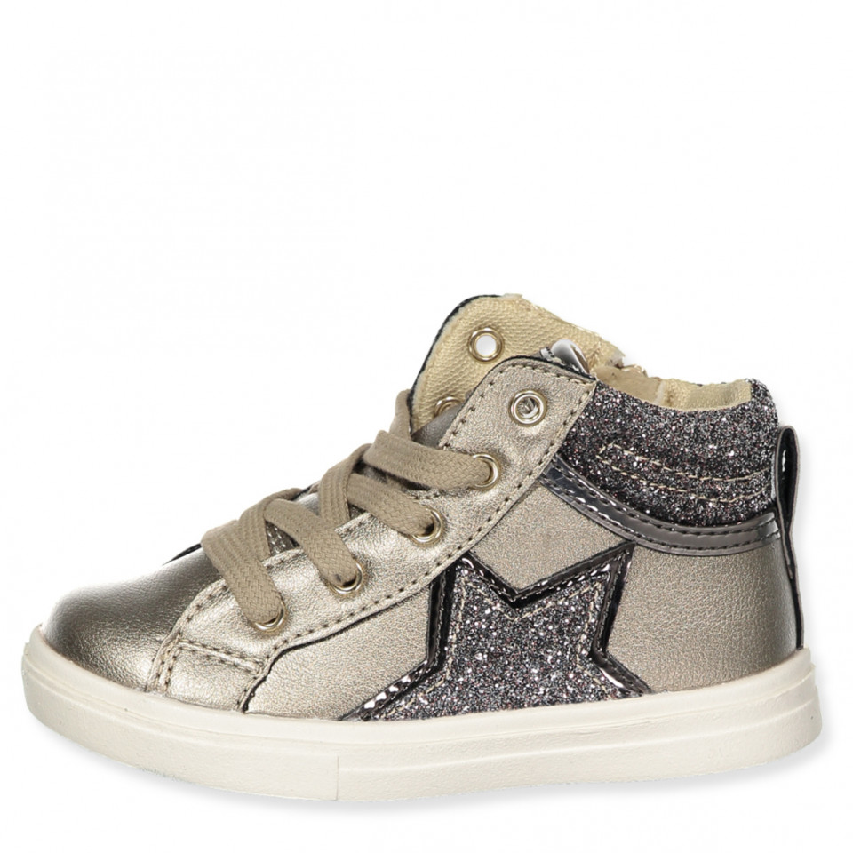 Guld sneakers