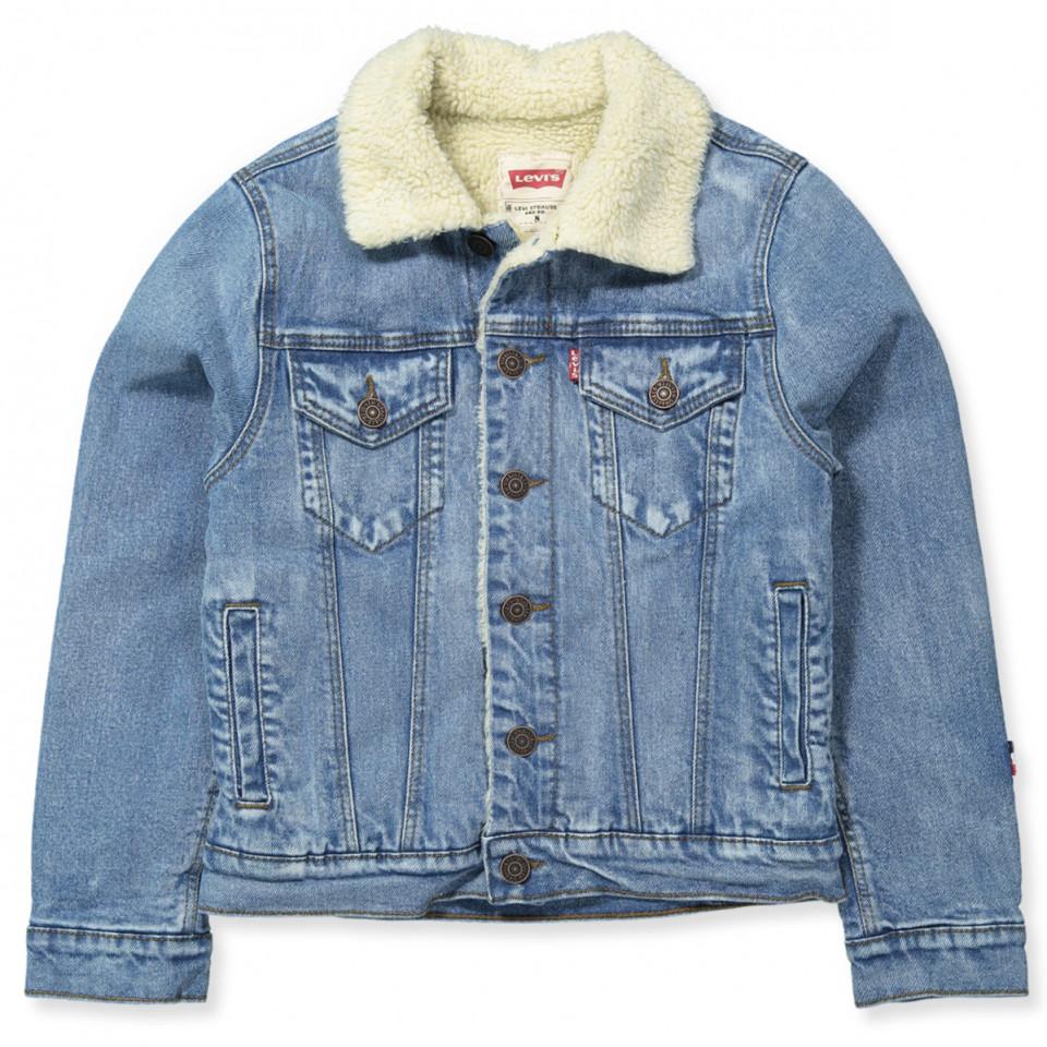 2ecbb4596a8 nok Levi's Kids - Denim jakke - dreng - INDIGO - Blå IE01