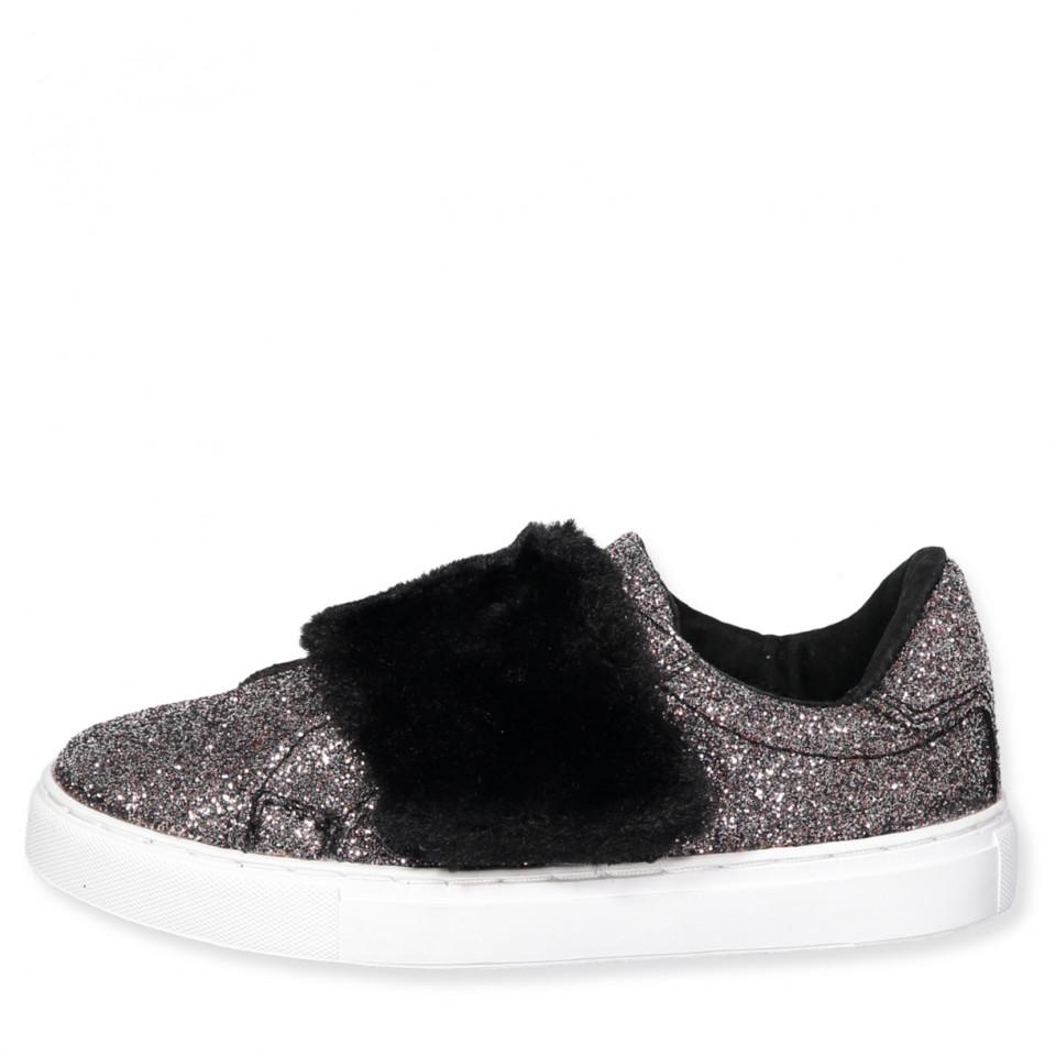 6ed864314599 Petit Sofie Schnoor - Glimmer sneakers - antracite