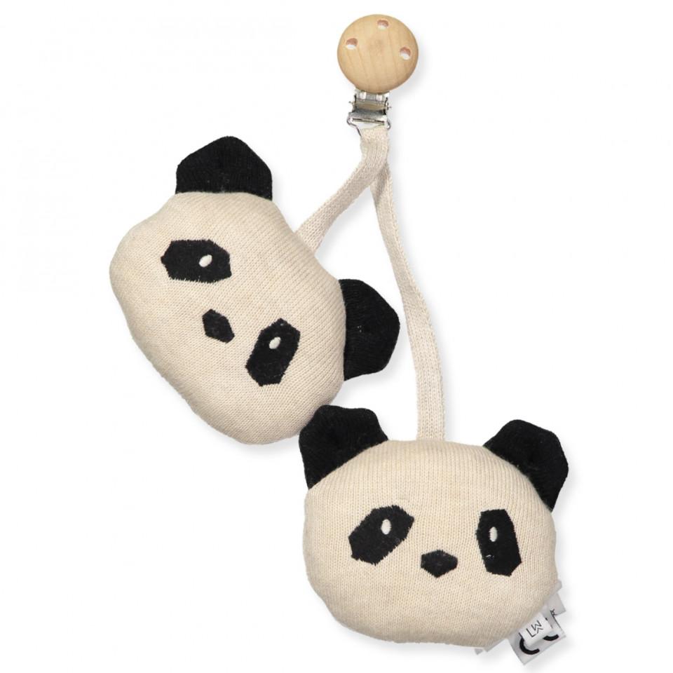Organic Panda barnevognsclip