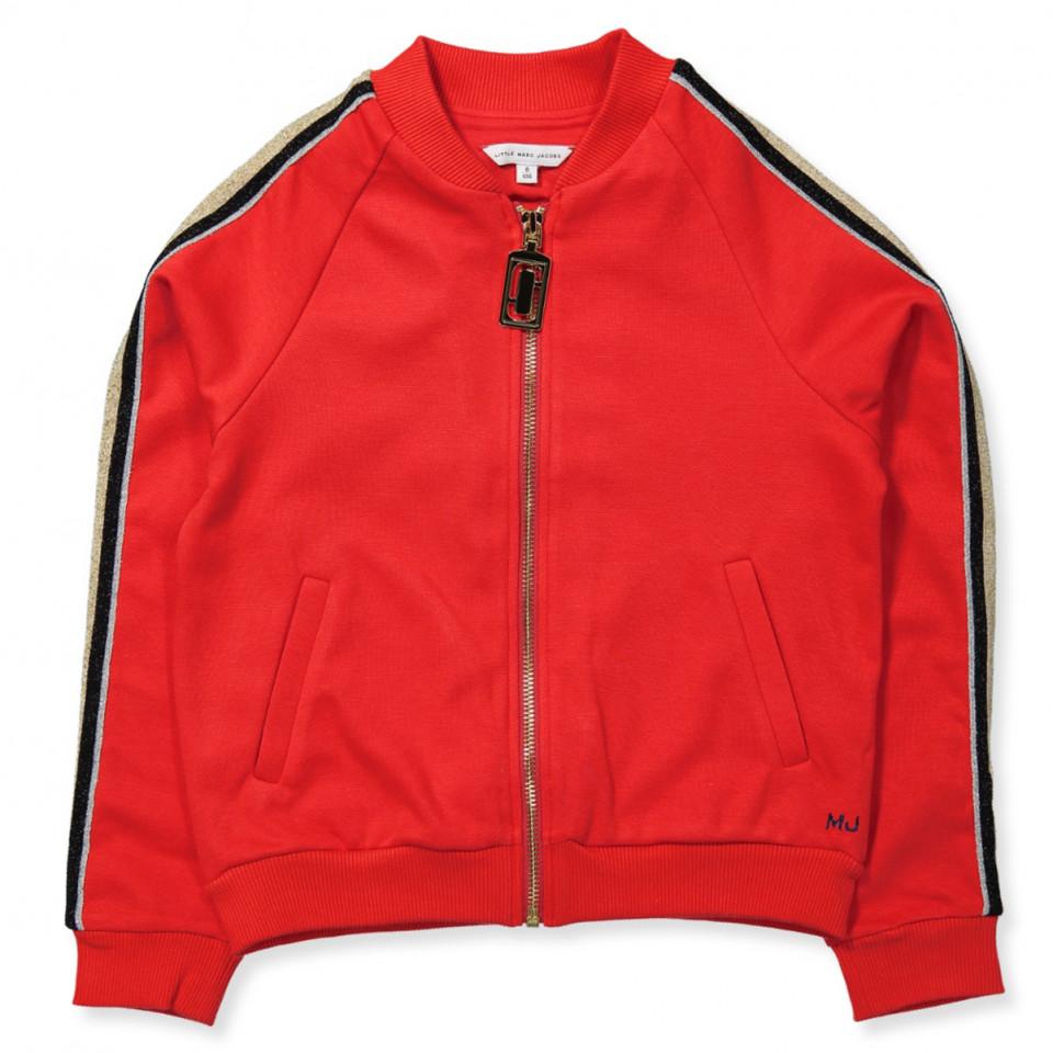 7ff68e12 Little Marc Jacobs - Zip sweat - RED - Rød