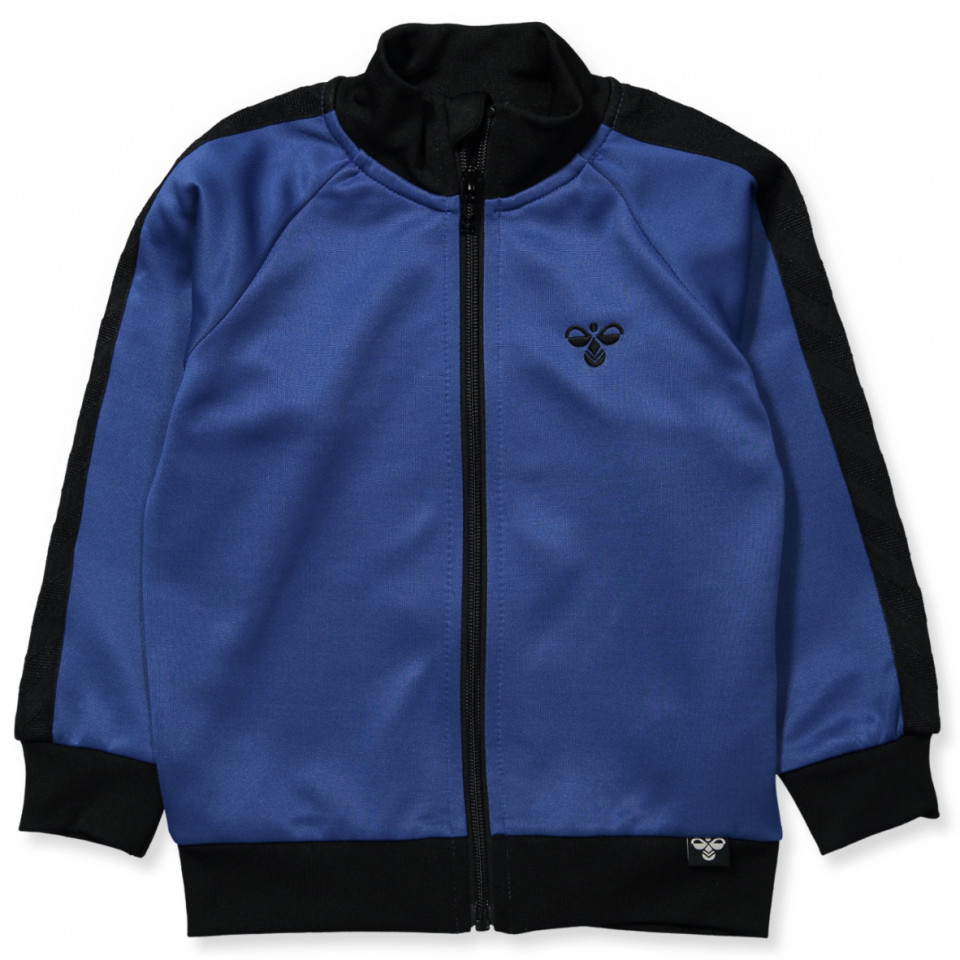 e05e9db540fb Hummel - Messi zip trøje - GALAXY BLUE - Blå