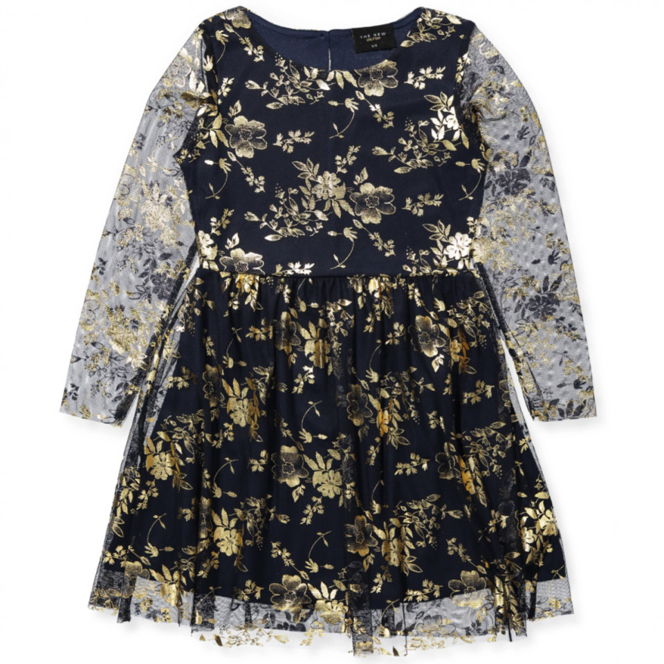 aabf9a66fc97 The new - Zin kjole - BLACK IRIS - Sort - House of Kids