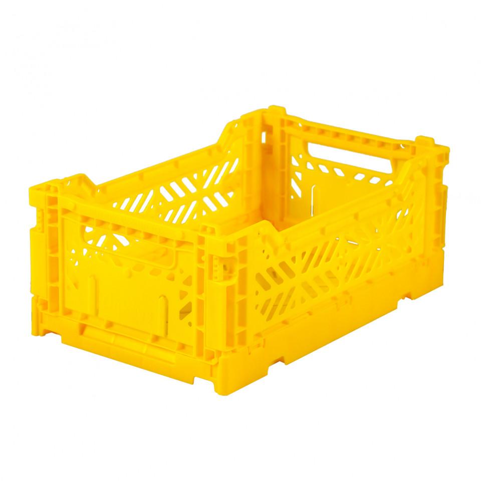 Foldekasse mini - yellow